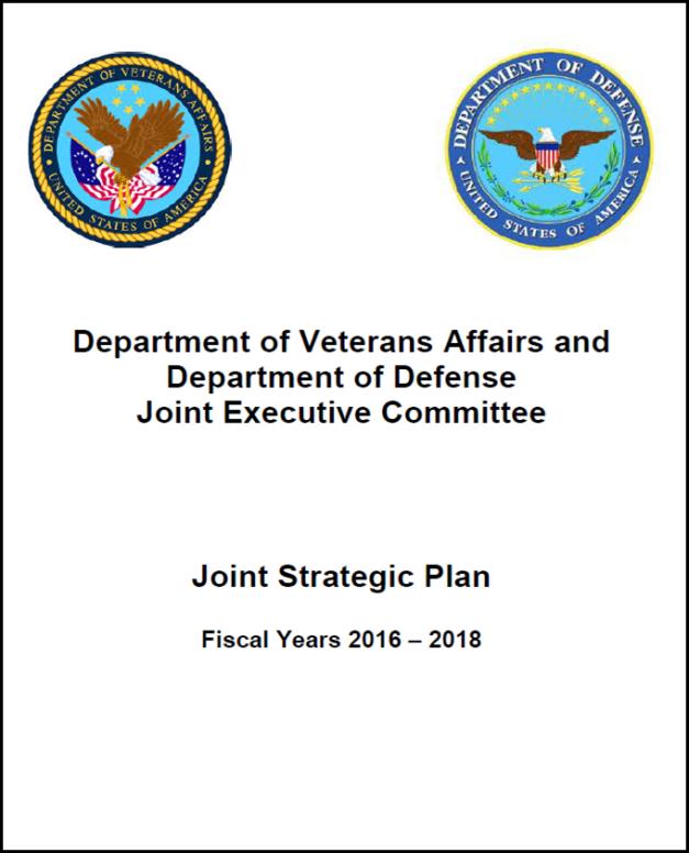 DOD-VA Plan 2016-2018