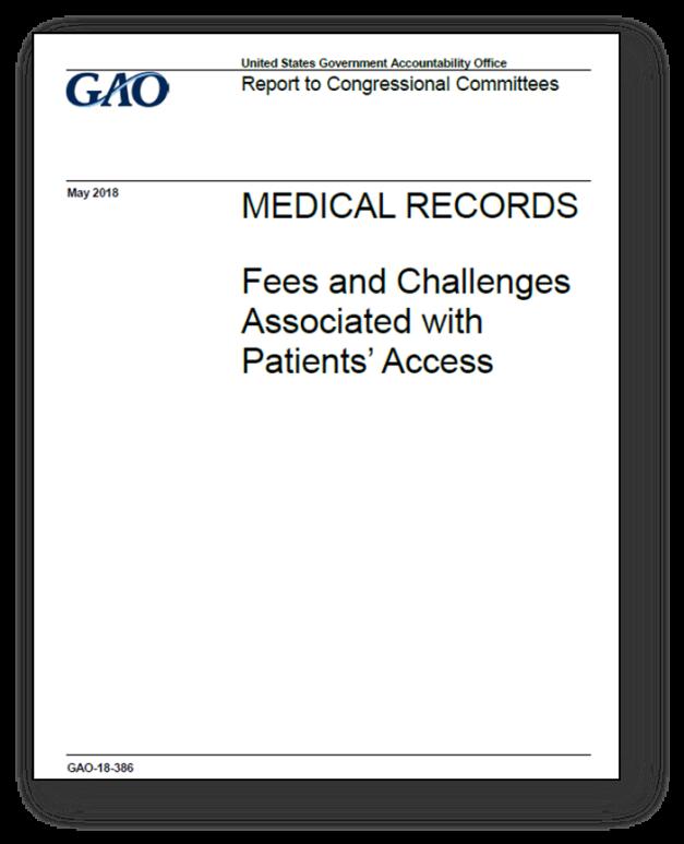 GAO - Medical Rec Access